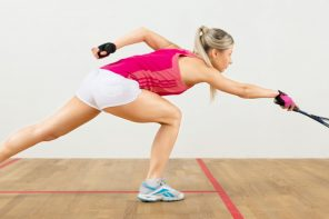Aktywność w rytmie squasha