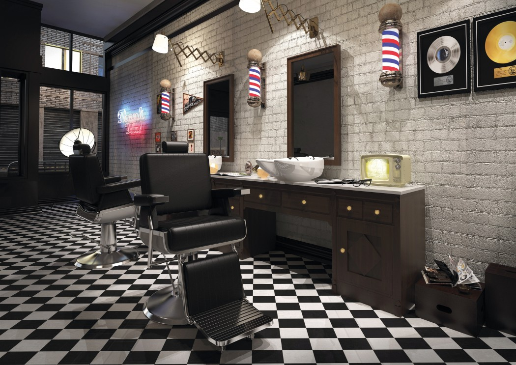 magazynkobiet.pl - barber1 1050x743 - W salonie fryzjerskim musi być wygodnie