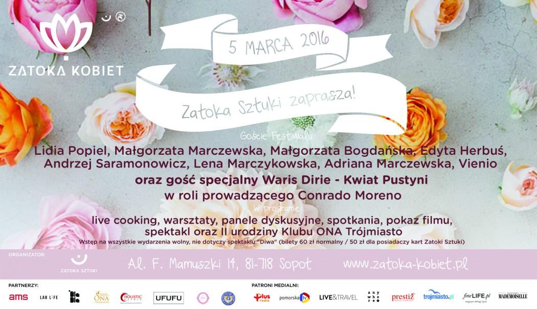 magazynkobiet.pl - Festiwal Zatoka Kobiet 2016 Magazyn Kobiet 1050x605 - Festiwal Zatoka Kobiet 2016