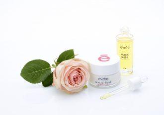 magazynkobiet.pl - Magic Rose duet 330x232 - Upiększający, różany duet evrēe® do pielęgnacji twarzy