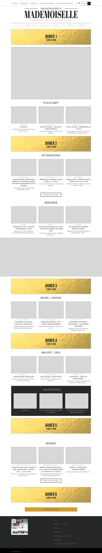 magazynkobiet.pl - layout strony 1 - Reklama