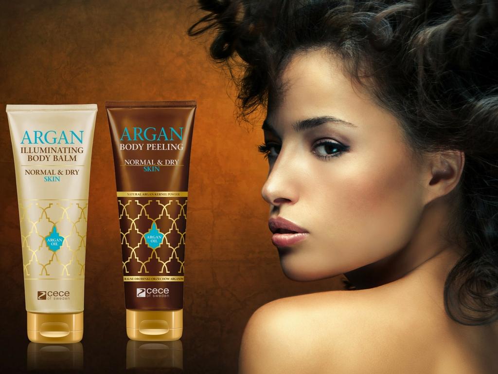 magazynkobiet.pl - Cece of Sweden Argan Body Care NEW - Poznaj marokański sekret pięknej skóry