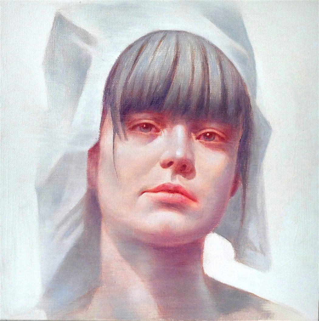 """magazynkobiet.pl - Portret niezalezny A 40x40cm olej na płótnie2016r 1050x1057 - """"Przed burzą"""" – wystawa malarstwa Sylwestra Stabryły"""