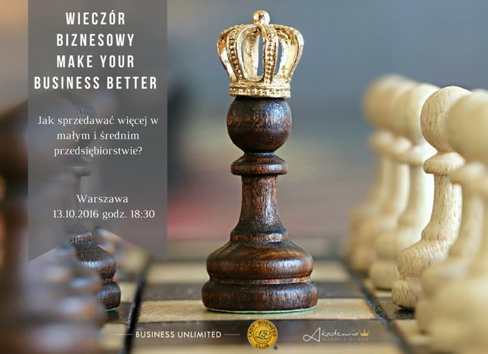 magazynkobiet.pl - WIECZÓR BIZNESOWY - Wieczór Biznesowy MAKE YOUR BUSINESS BETTER