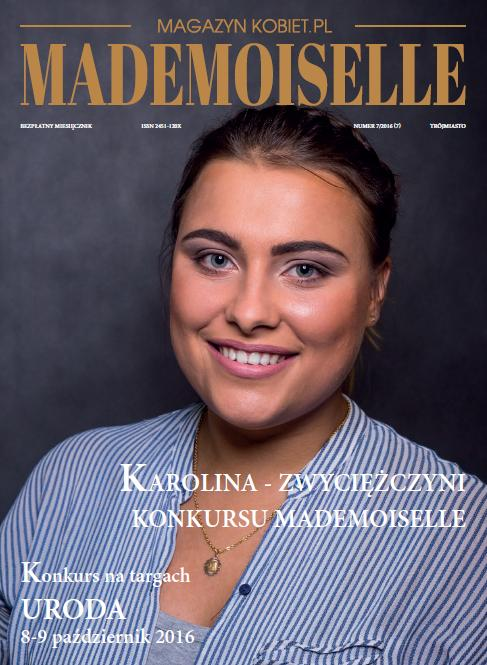 magazynkobiet.pl - konkurs.zwyciezczyni - Karolina Polkowska Nową Mademoiselle!