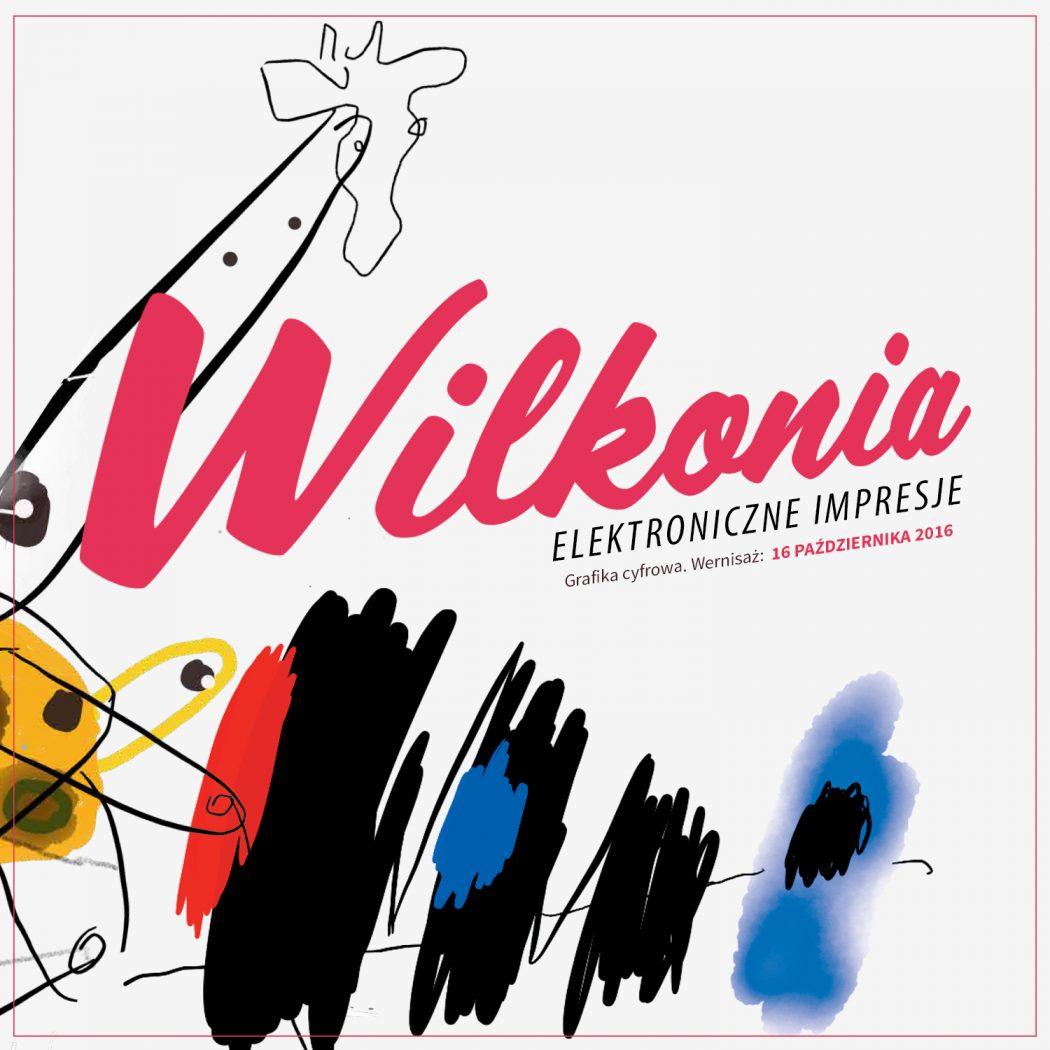 """magazynkobiet.pl - kwadrat 1050x1050 - """"Elektroniczne Impresje Wilkonia"""" – wystawa grafiki cyfrowej Józefa Wilkonia w Limited Edition"""