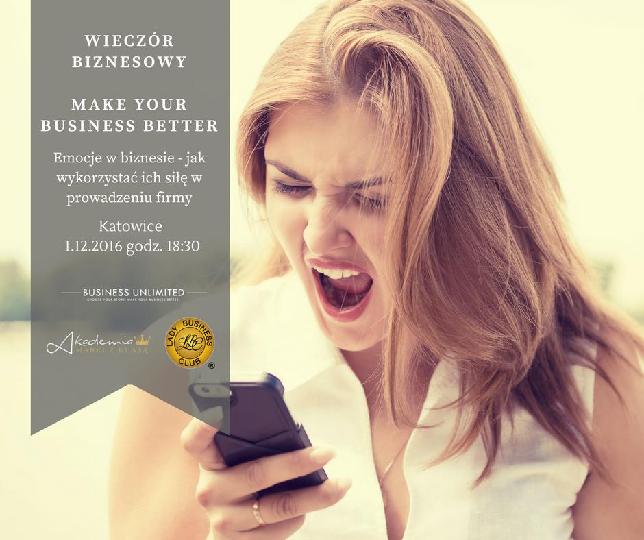 magazynkobiet.pl - WIECZÓR BIZNESOWY 1.12.2016 - Wieczór Biznesowy MAKE YOUR BUSINESS BETTER