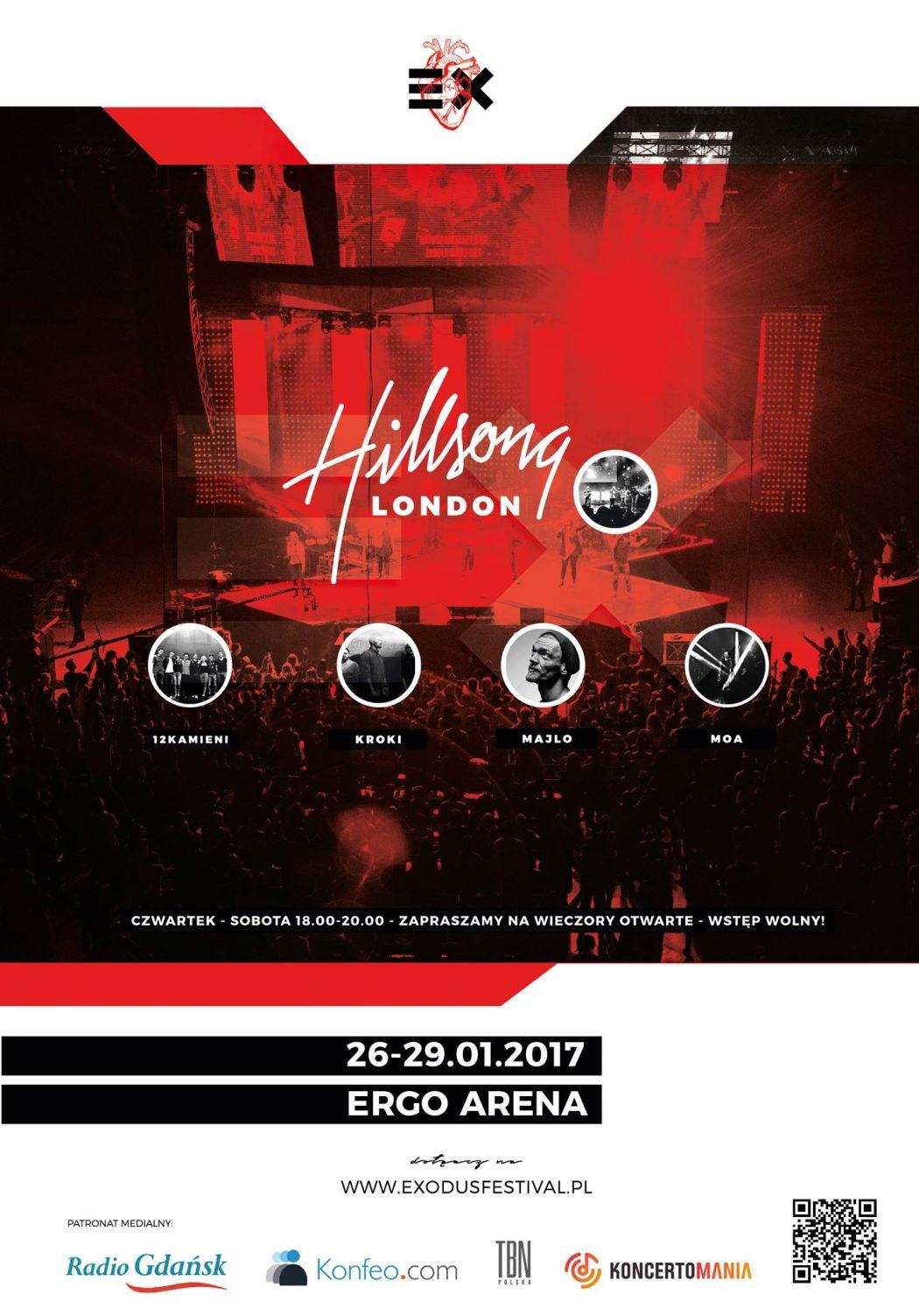 magazynkobiet.pl - Plakat EX17 1050x1503 - Koncert Hillsong London w ERGO ARENIE