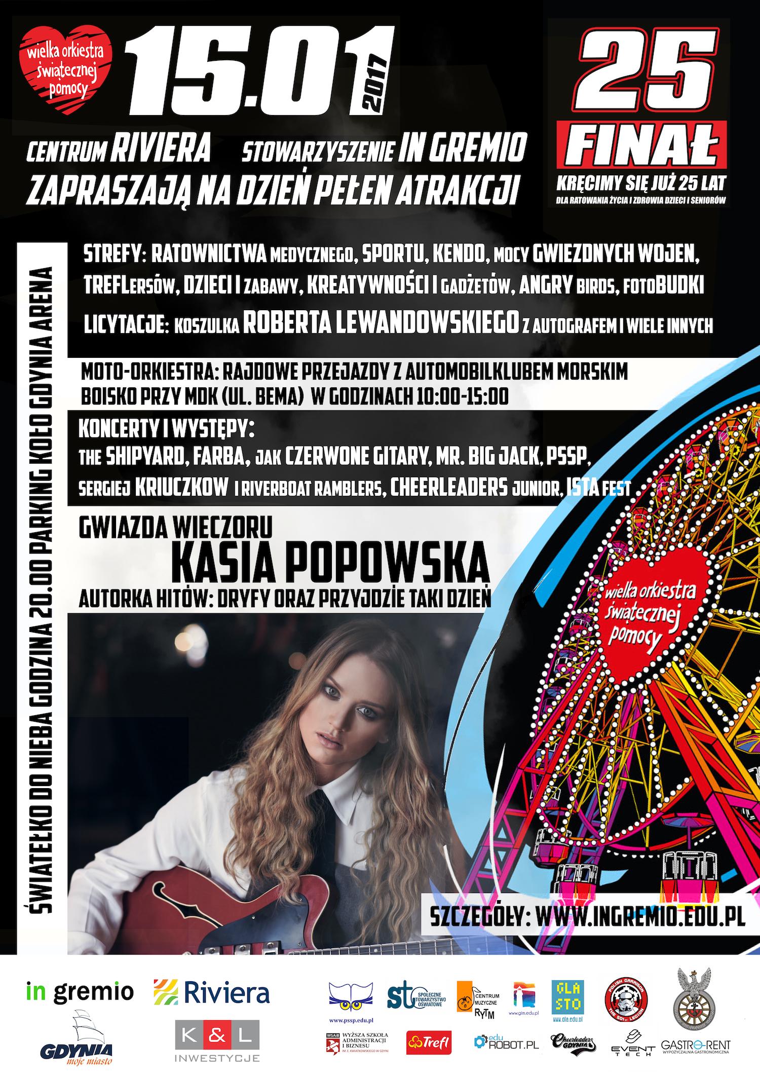 magazynkobiet.pl - WOSP20172 kopia - Moc atrakcji w Centrum Riviera. 25 finał WOŚP
