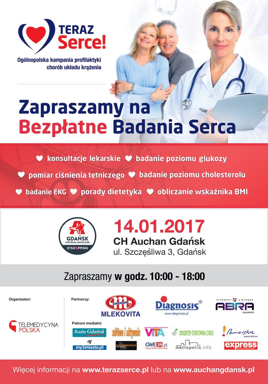 """magazynkobiet.pl - b1 teraz serce gdansk 01 fb 1050x1507 - Bezpłatne badania kardiologiczne. Akcja """"Teraz serce"""" już 14 stycznia"""