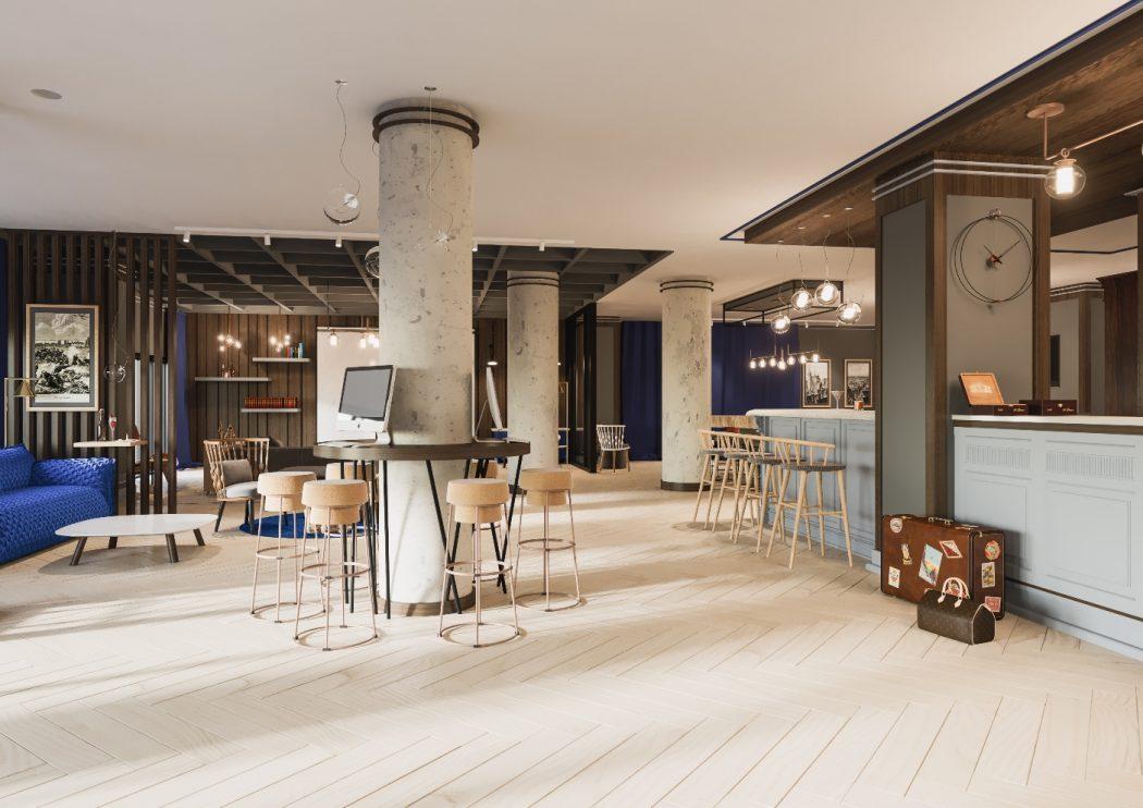 magazynkobiet.pl - Hotel Number One lobby 1050x742 - Budowa Hotelu Number One na finiszu