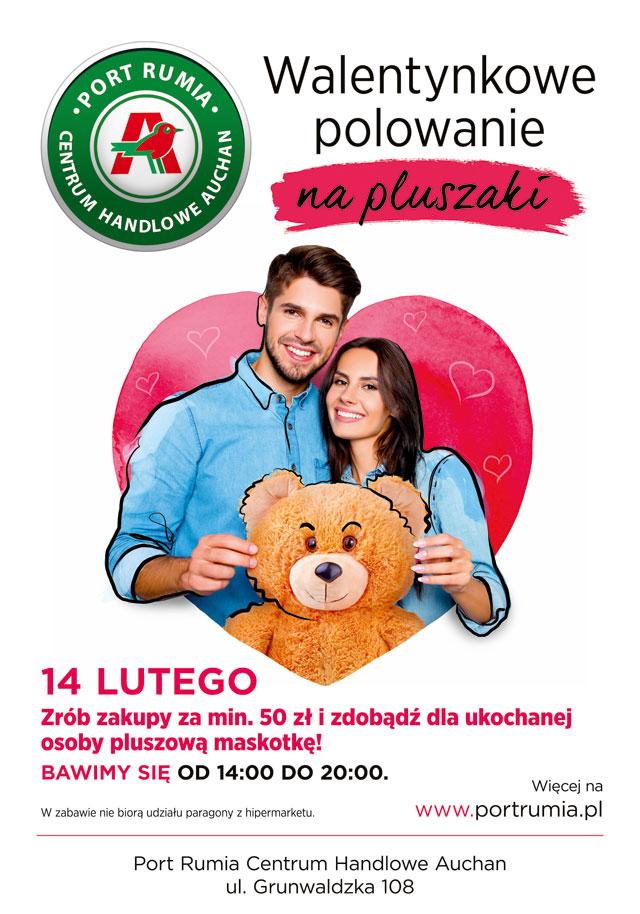 """magazynkobiet.pl - Rumia plakat - Walentynkowe """"polowanie"""" na prezenty czas start!"""