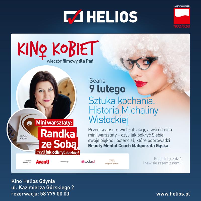 magazynkobiet.pl - helios kinokobiet sztuka kochania 600x600px v1 gdynia - Kino Kobiet - Sztuka Kochania