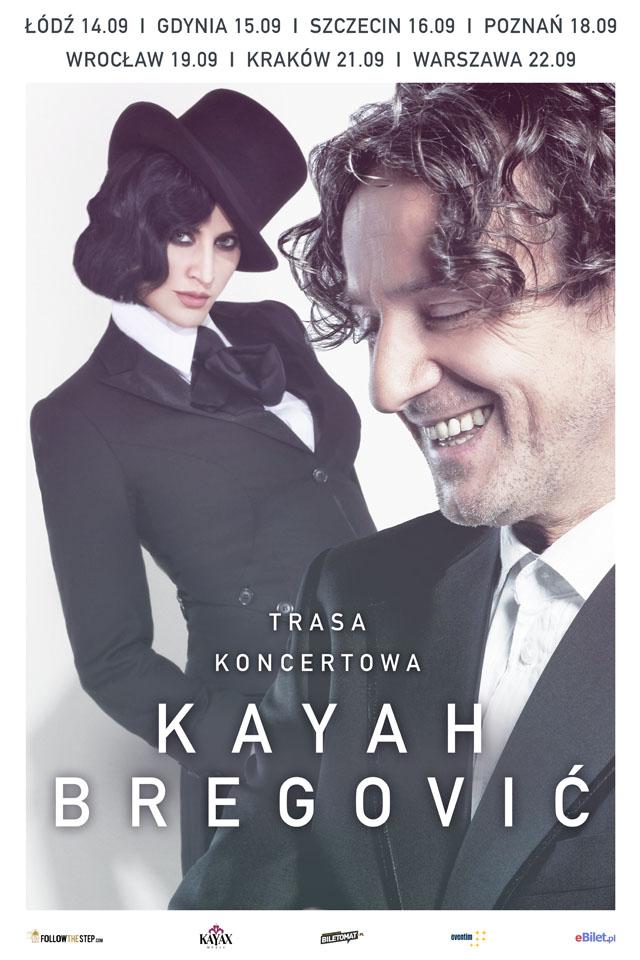 magazynkobiet.pl - Kayah Bregovic plakat - Nie widzieliście ich razem 17 lat… Kayah i Bregović ruszają w wielką trasę koncertową!