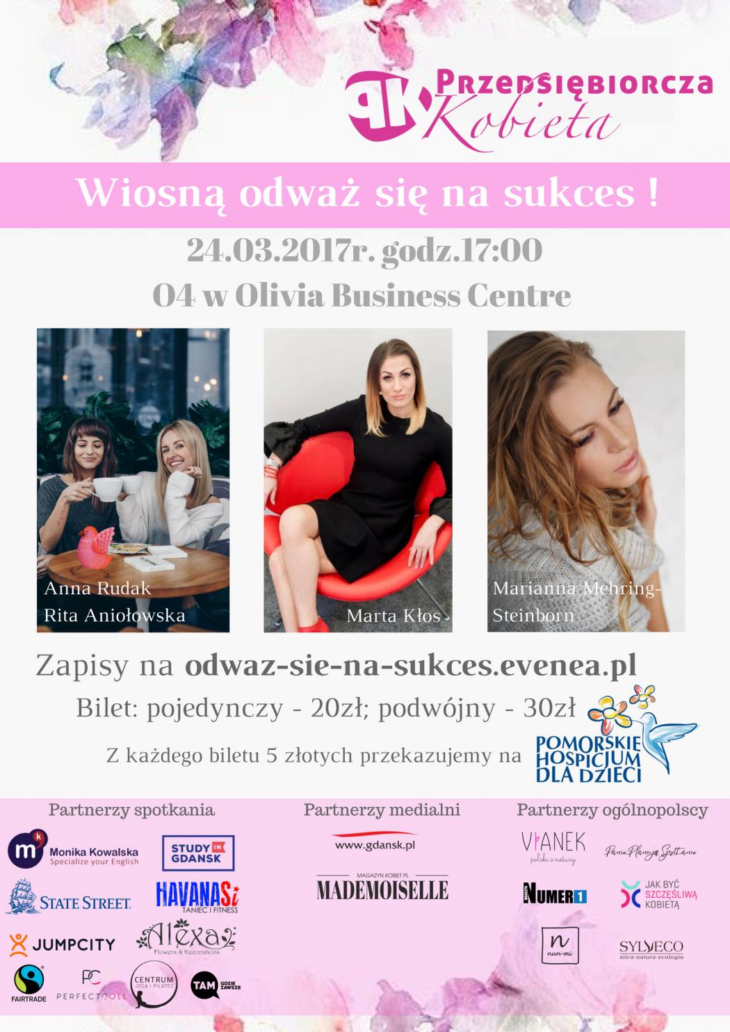 magazynkobiet.pl - Partnerzy spotkania 1 1050x1485 - Wiosną odważ się na sukces!