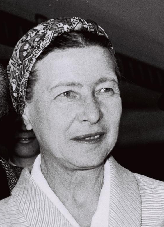 magazynkobiet.pl - Simone de Beauvoir2 - Simone de Beauvoir – francuska pisarka, feministka, filozofka