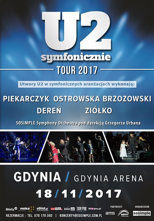 magazynkobiet.pl - U2 miasta 28.02.2017 Gdynia - U2 Symfonicznie 2017