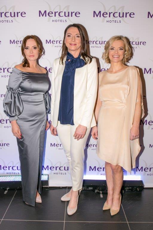 Dorota Goldpoint, Sylwia Gadomska Dyrektor Regionu Północnego Hoteli marki Mercure & Novotel, Monika Zamachowska
