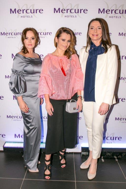 Dorota Goldpoint,Anna Oberc, Sylwia Gadomska Dyrektor Regionu Północnego Hoteli marki Mercure & Novotel