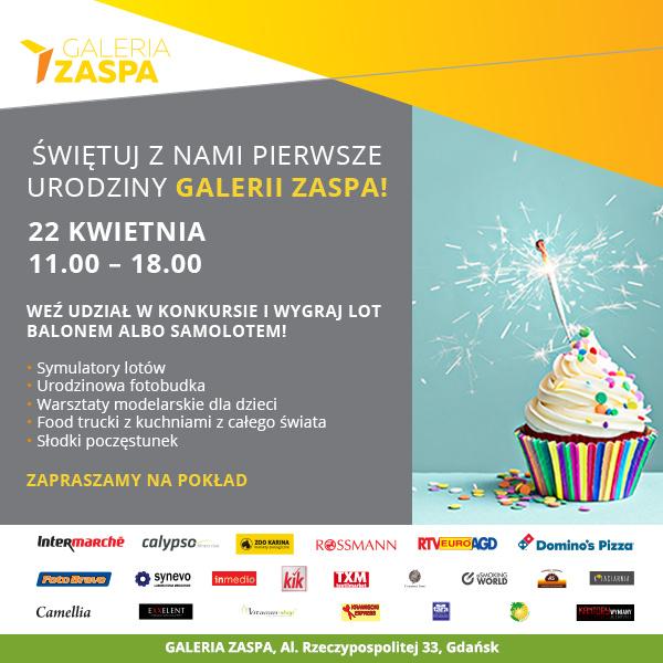 magazynkobiet.pl - Galeria Zaspa urodziny - Galeria Zaspa zaprasza na 1. urodziny