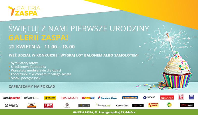magazynkobiet.pl - Galeria Zaspa urodziny1 - Galeria Zaspa zaprasza na 1. urodziny