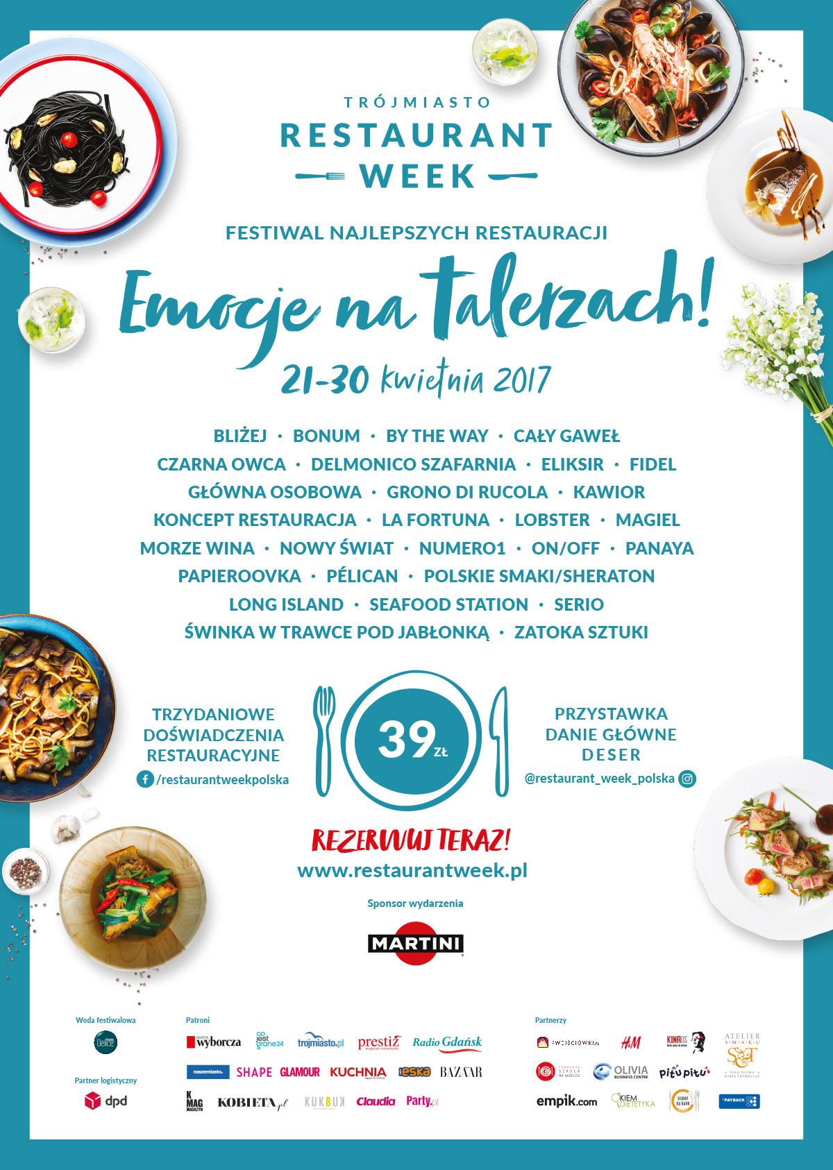 magazynkobiet.pl - trojmiasto restaurant week plakat a2 MASTER CS6 - EMOCJE NA TALERZACH! WIOSENNY FESTIWAL NAJLEPSZYCH RESTAURACJI TRÓJMIASTO RESTAURANT WEEK już od 21 do 30 kwietnia!