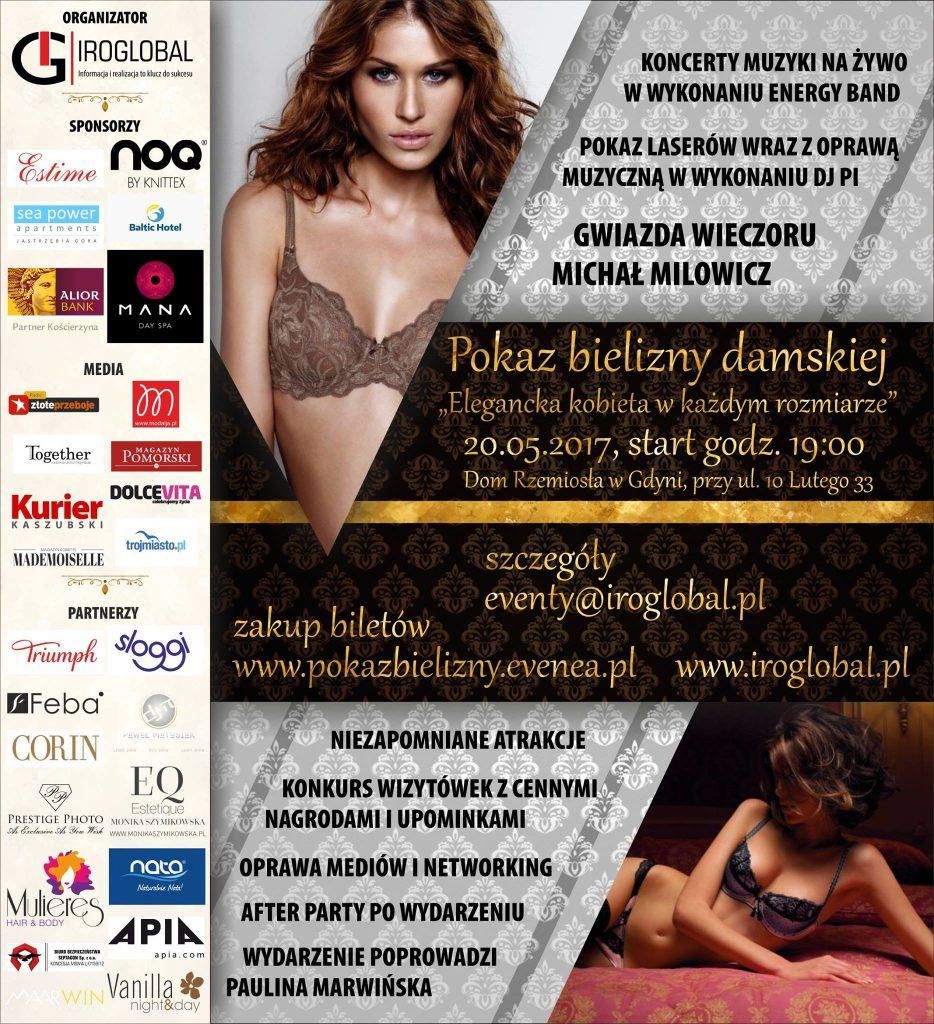 """magazynkobiet.pl - 18362344 282834032174812 1623442847 o 934x1024 - Pokaz bielizny """"Elegancka Kobieta w Każdym Rozmiarze"""""""