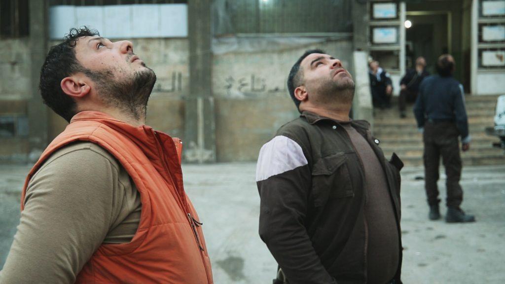 """magazynkobiet.pl - Last Men in Aleppo. Still 1 1024x576 - Zwyciężył film """"Ostatni w Aleppo"""" w reżyserii Ferasa Fayyada - Millennium Docs Against Gravity GDYNIA 2017"""