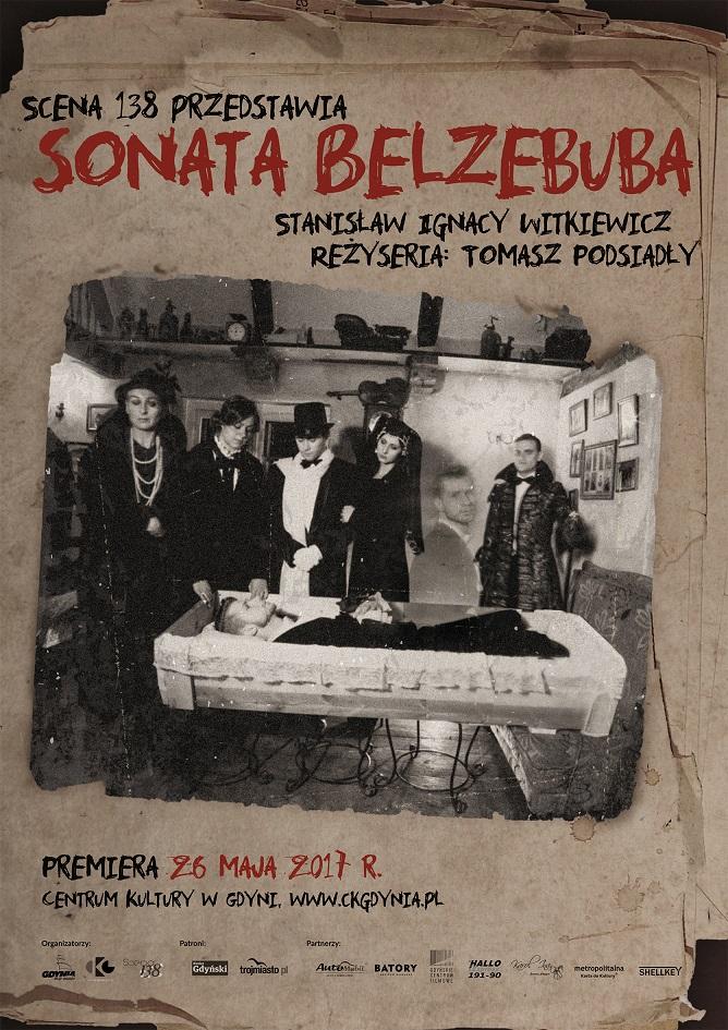 magazynkobiet.pl - Sonata Belzebuba plakat - SONATA BELZEBUBA
