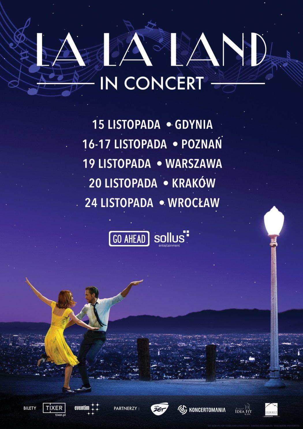 """magazynkobiet.pl - plakat 1 1050x1485 - Wielka światowa trasa koncertowa """"La La Land in Concert"""" w Polsce!"""