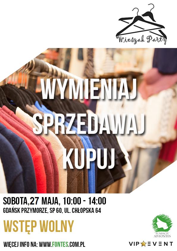 magazynkobiet.pl - plakat A4 wieszak party NOWY - WIESZAK PARTY po dwóch latach powraca w wielkim stylu i nowej odsłonie!