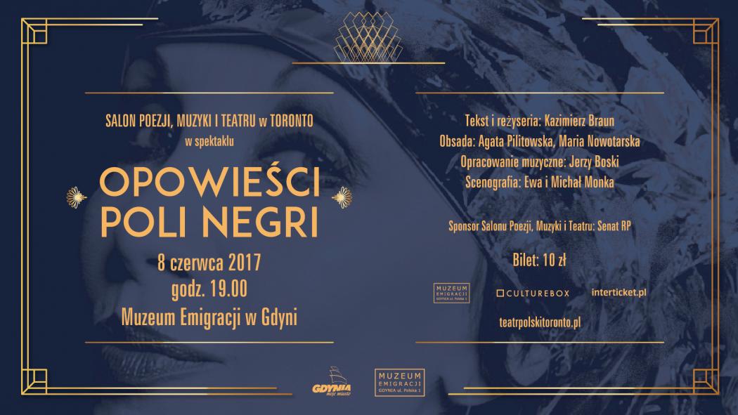 magazynkobiet.pl - teatr 1920x1080 1 01 1050x591 - Opowieści Poli Negri – spektakl Teatru Polskiego w Toronto