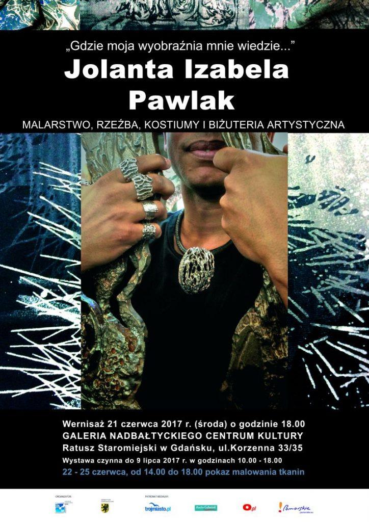 """magazynkobiet.pl - Plakat Pawlak 724x1024 - """"Gdzie moja wyobraźnia mnie wiedzie..."""""""