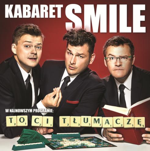"""magazynkobiet.pl - kabaret smile grafika - Występ kabaretu Smile z programem """"To Ci tłumaczę"""""""
