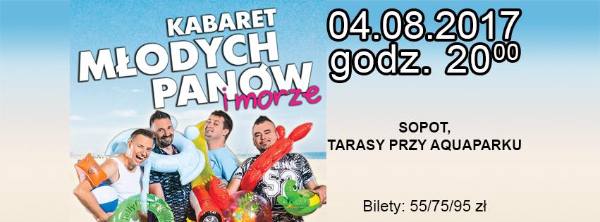 magazynkobiet.pl - 851x315 KMP - Wakacyjny Kabaret Młodych Panów i morze
