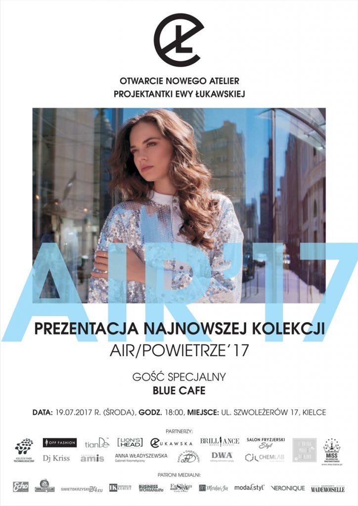 magazynkobiet.pl - ewa lukawska plakat 724x1024 - PROJEKTANTKA EWA ŁUKAWSKA OTWIERA NOWE ATELIER. GOŚCIEM BLUE CAFE