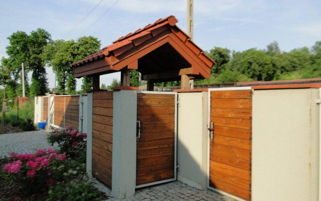 magazynkobiet.pl - miejsce na smietnik w ogrodzie 1050x656 - Jak zasłonić pojemnik na śmieci?