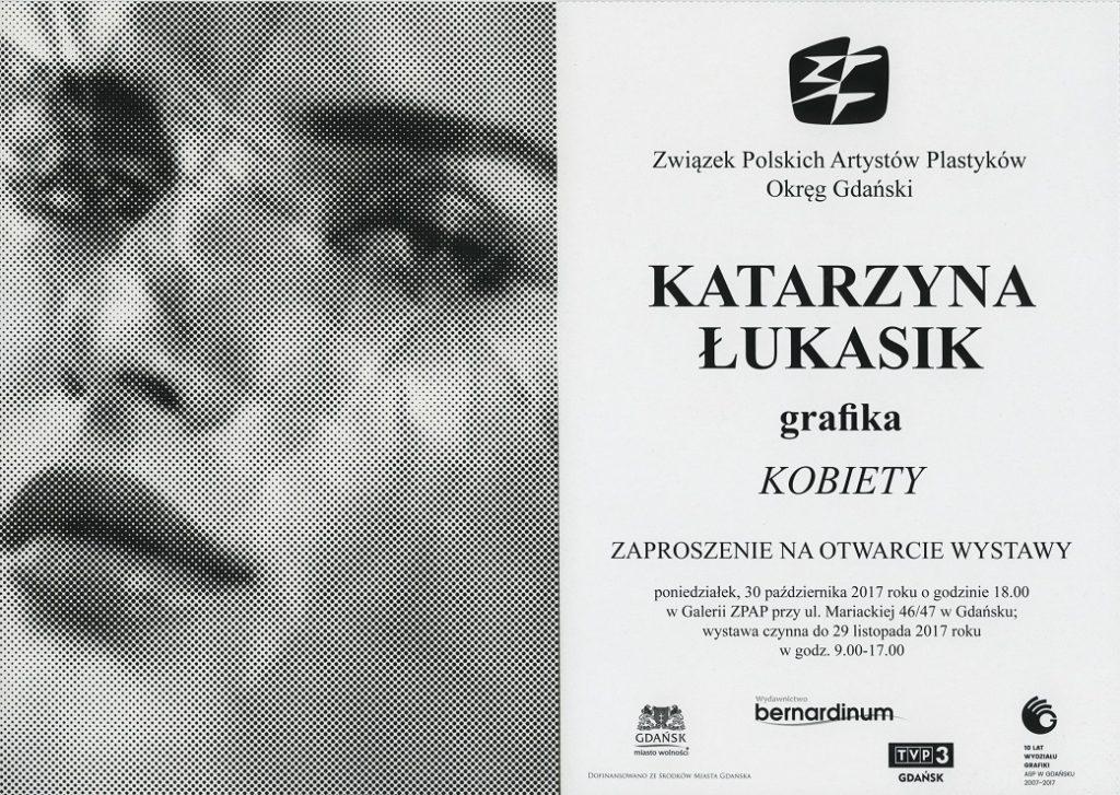 magazynkobiet.pl - ZAPROSZENIE1 1024x727 - Kobiety. Otwarcie wystawy w Galerii ZPAP