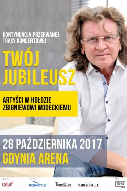 magazynkobiet.pl - plakat Wodecki 250x376 - TWÓJ JUBILEUSZ – W HOŁDZIE ZBYSZKOWI WODECKIEMU