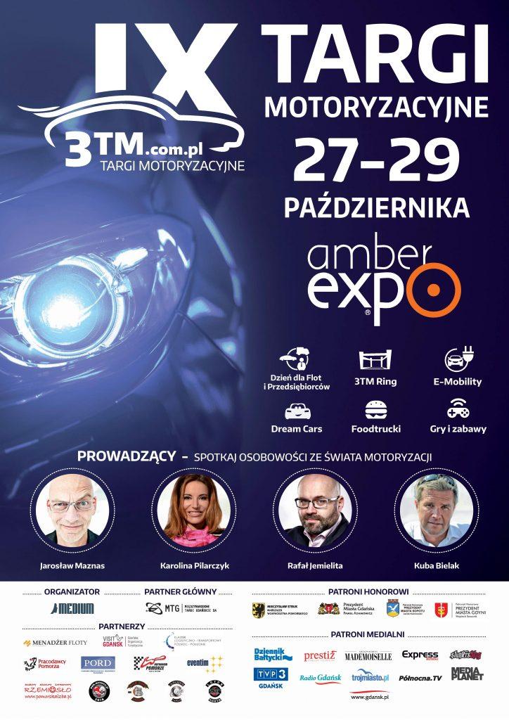 magazynkobiet.pl - plakat targi moto 724x1024 - Targi Motoryzacyjne 3TM Gdańsk 2017