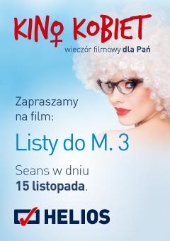 """magazynkobiet.pl - gdynia 240x340 kino kobiet 01 - """"Listy do M. 3"""" w Kinie Kobiet"""
