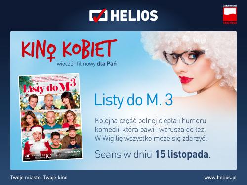 """magazynkobiet.pl - gdynia 500x375 kino kobiet 01 - """"Listy do M. 3"""" w Kinie Kobiet"""