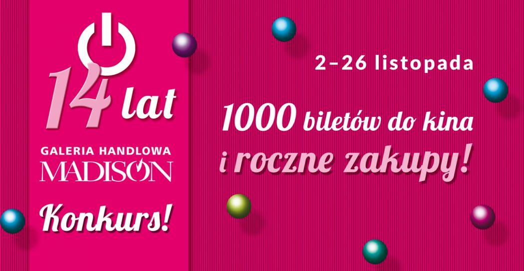 magazynkobiet.pl - www szr1500px urodziny14 2017 1050x543 - Galeria Madison świętuje 14-ste urodziny
