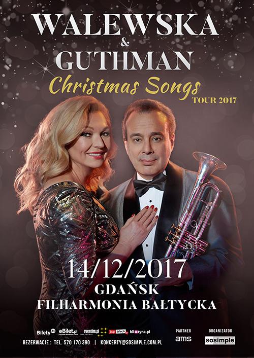 """magazynkobiet.pl - christmas songs 2017 Walewska 06.11 GDANSK lekki - MAŁGORZATA WALEWSKA & GARY GUTHMAN Jazz QUARTET """"CHRISTMAS SONGS"""""""