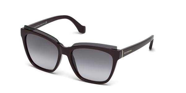 1. Okulary przeciewsłoneczne Balanciaga