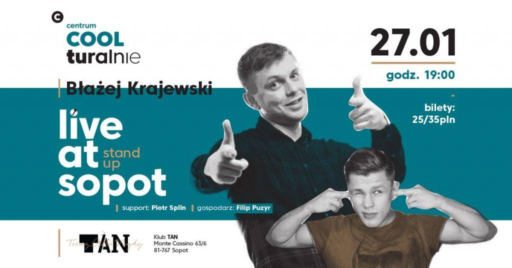 magazynkobiet.pl - 26849990 2070269123254967 8629914690290930756 o 1024x536 - Live at Sopot - Sobotnie wieczory Stand-up'owe