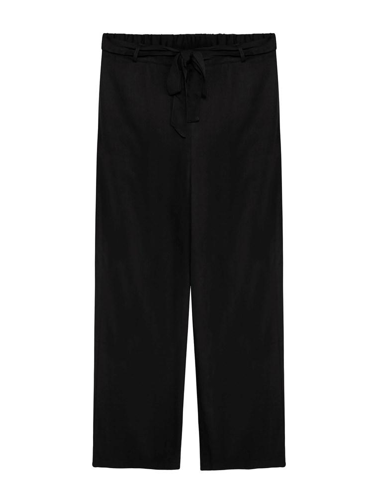 Czarne spodnie kuloty- KappAhl