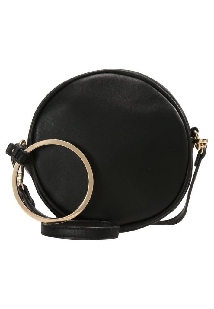 Czarna torebka VIA ROUND RING