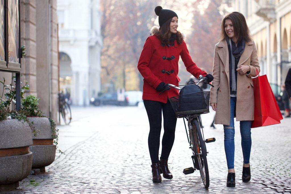 rower w zimę