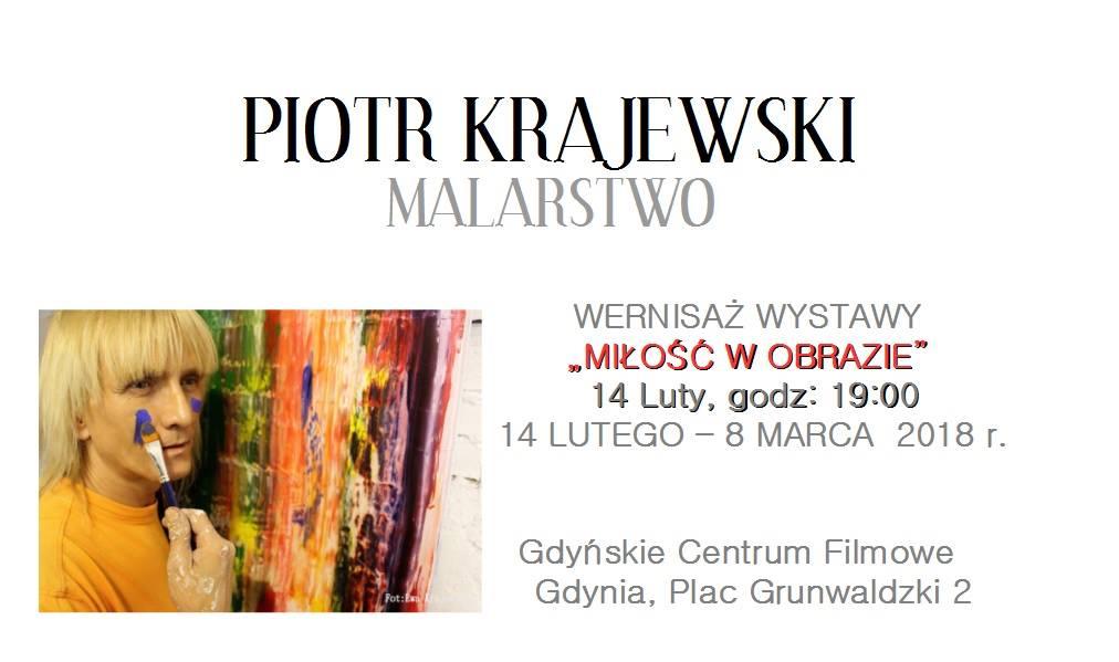 """magazynkobiet.pl - plakat krajewski - Wernisaż wystawy """"Miłość w obrazie … Piotra Krajewskiego""""."""